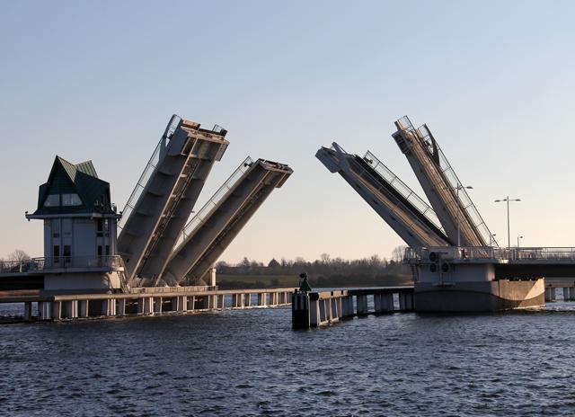 Hebebrücke in Kappeln
