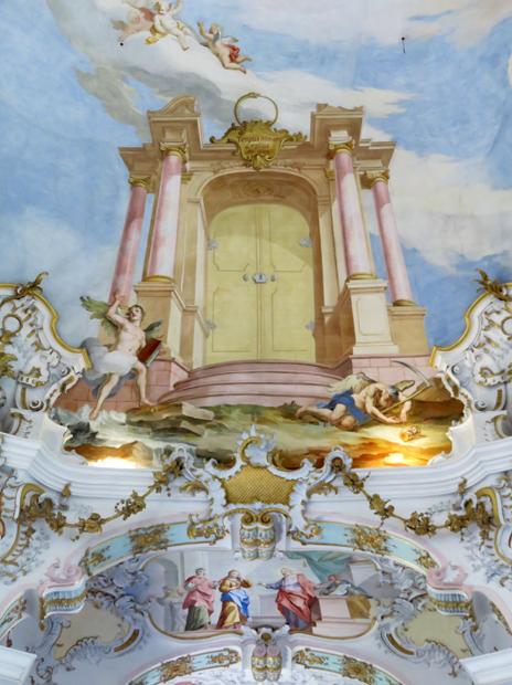 Wieskirche, Himmelstüre