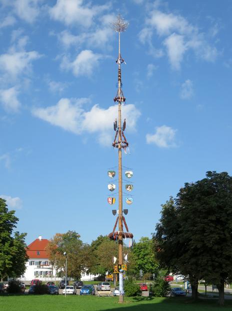 Maibaum in Ottobeuren