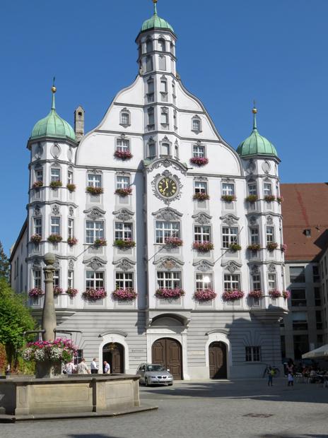 Memmingen, Rathaus